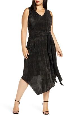 Rachel Roy Alex Asymmetrical Cocktail Dress