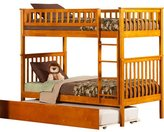 Atlantic Furniture Woodland Twin over Twin Bunk Bed with Trundle