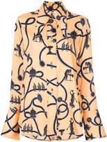 Ellery Nova collared blouse