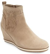 Geox Women's 'Illusion' Perforated Wedge Bootie
