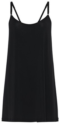 La Perla Slip Dress In Modal Silk Jersey