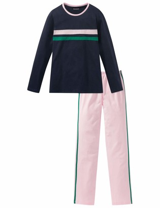 Schiesser Girls' Madchen Anzug Lang Pyjama Sets