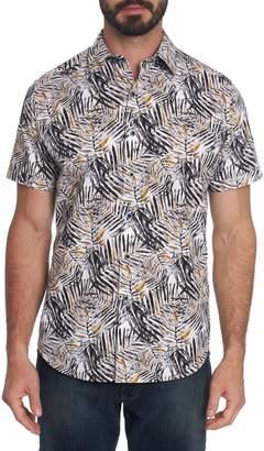 Robert Graham Classic-Fit Palm-Print Shirt