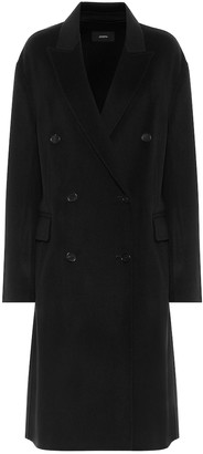 Joseph Carles double-faced wool and cashmere coat