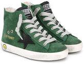 Golden Goose Deluxe Brand Kids - Francy high-top sneakers - kids - Cotton/Suede/rubber - 26