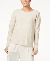 Eileen Fisher Cashmere Mixed Rib-Knit Sweater, Regular & Petite