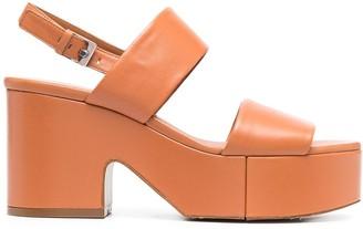 Clergerie Cora platform sandals