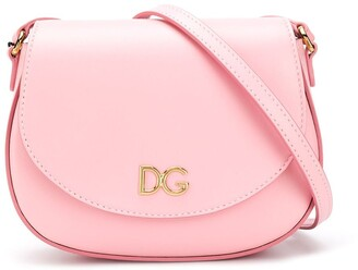Dolce & Gabbana Kids Logo Plaque Shoulder Bag