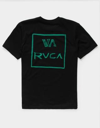 RVCA Dry Brush Boys Black T-Shirt