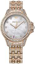 Juicy Couture Malibu Silver Tone Dial Stainless Steel Bracelet Ladies Watch