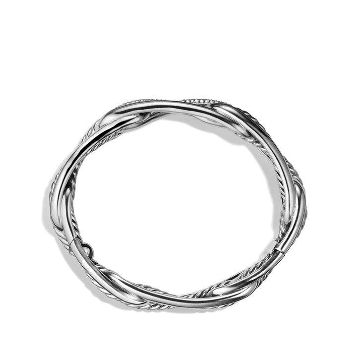 David Yurman Labyrinth Link Bracelet with Diamonds
