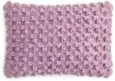 "Sky Florentina Textured Velvet Decorative Pillow, 14"" x 20"""