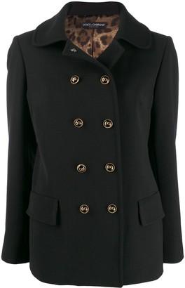 Dolce & Gabbana Collared Coat