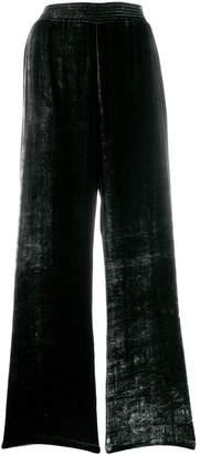 Roberto Collina textured palazzo trousers
