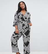 Alice & You Paisley Print Jumpsuit