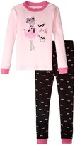 Petit Lem Magic Girl 2 Piece Pajama Set (Toddler/Kid) - Pink - 6