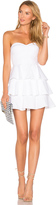 Amanda Uprichard Tired Ruffle Dress