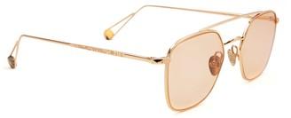 AHLEM Place Colette Peony Gold Shiny Sunglasses