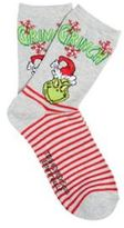 Character Dr. Seuss The Grinch Christmas Ankle Socks, Women's,