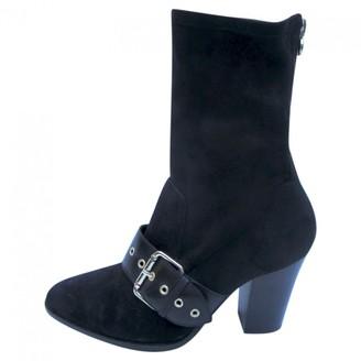 Tommy Hilfiger Gigi Hadid X Black Suede Ankle boots
