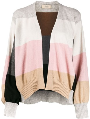 Maison Flaneur Wide Stripes Cardigan