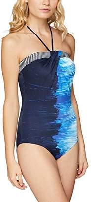 Sunflair Women's Tropical Rain Swimsuit,(Manufacturer Size: 40B)