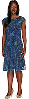 Isaac Mizrahi Live! Floral Lace Printed Dress