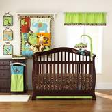 Pem America Too Good by Jenny McCarthy Zoo Zoo 4 Piece Reversible Crib Bedding Set