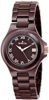 Invicta Women's 14571 Ceramics Analog Display Swiss Quartz Brown Watch