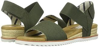 Skechers BOBS from Desert Kiss - Poppy Bloom (Navy) Women's Shoes