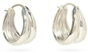 Sophie Buhai Double Sterling-silver Hoop Earrings - Silver