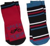 Gymboree Moto & Stripe Socks