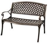 Abbyson Living® Nicola Cast Aluminum Bench in Copper