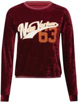 M&Co New Yorker 63 velour sweat top