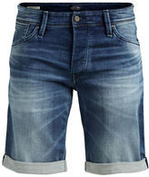 Jack and Jones Irick Slim-Fit Denim Shorts