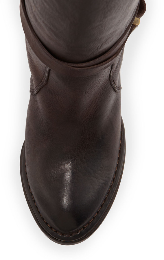 Alberto Fermani Ankle-Strap Knee Boot, T Moro