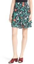 Kate Spade Women's Jardin Double Layer Skirt