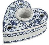 Heart Shaped Inkwell Candleholder and Vase