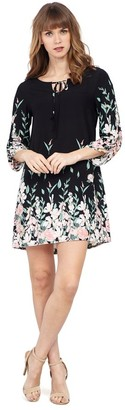 M&Co Izabel border print tunic dress