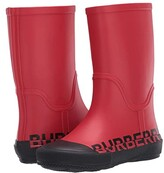 Burberry Hurston RUBB Weatherboots (Toddler/Little Kid) (Bright Red) Kid's Shoes