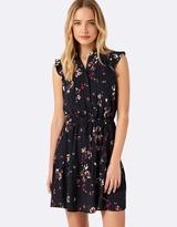 Forever New Adele Pin Tuck Mini Dress