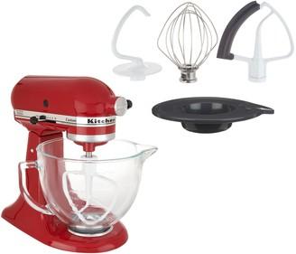 KitchenAid 5-qt Artisan 325W Tilt-Head Stand Mixer w/ Glass Bowl