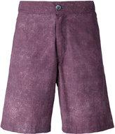 Fashion Clinic Timeless - washed swim shorts - men - Nylon/Spandex/Elastane - S