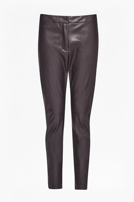 French Connection Atlantic Faux Leather Trousers