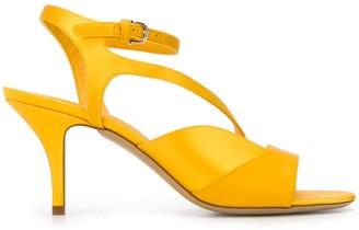 Salvatore Ferragamo asymmetric multi-strap sandals