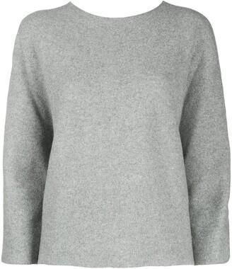 Peserico Sweater With Silk Arm