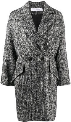 IRO Double-Breasted Drop Shoulder Coat