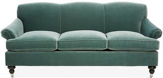 Kim Salmela Joplin Sofa - Jade Velvet