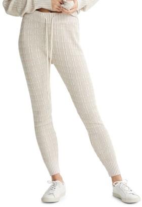 Varley Florence Wool-Blend Sweatpants