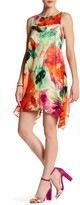 Robbie Bee Floral Trapeze Dress